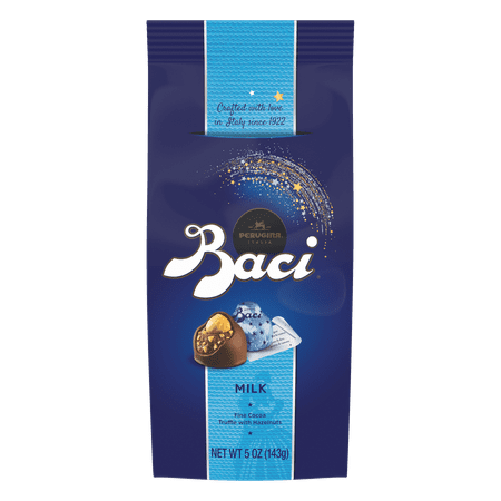 Baci Perugina Original Milk Chocolate Truffle Bag, 5 Ounce (143 g)