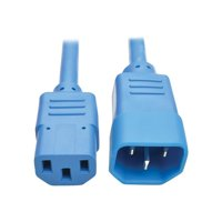 3 ft.  Standard Computer Power Extension Cord 10A, 18 Awg