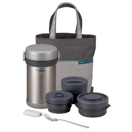 Zojirushi Classic Stainless Lunch Jar - Zojirushi SL-NCE09 Ms. Bento Stainless-Steel Vacuum Lunch Jar
