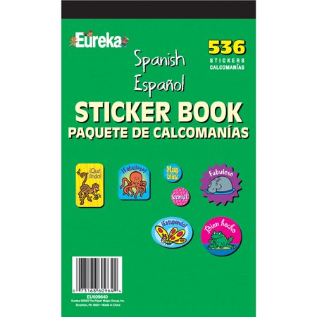 Spanish Sticker Book by Eureka