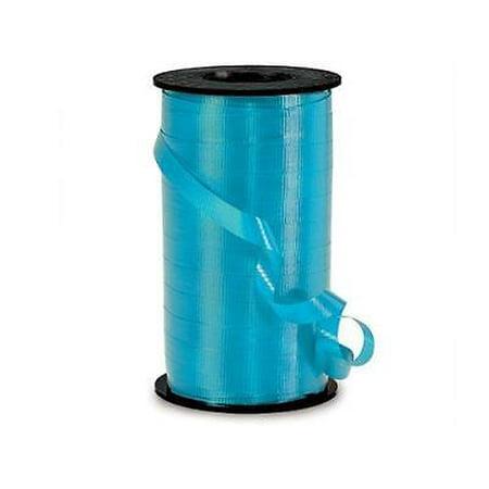 - 6 Unit Caribbean Blue Curling Ribbon 3/8