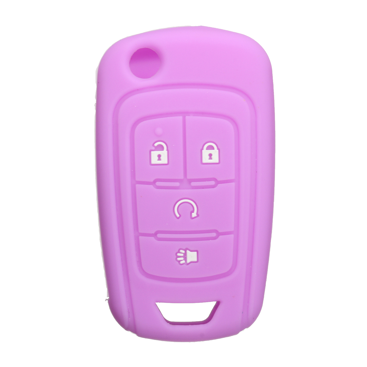 Pink Chevrolet Pontiac Key Fob Cover Jacket Silicon Pouch Bag
