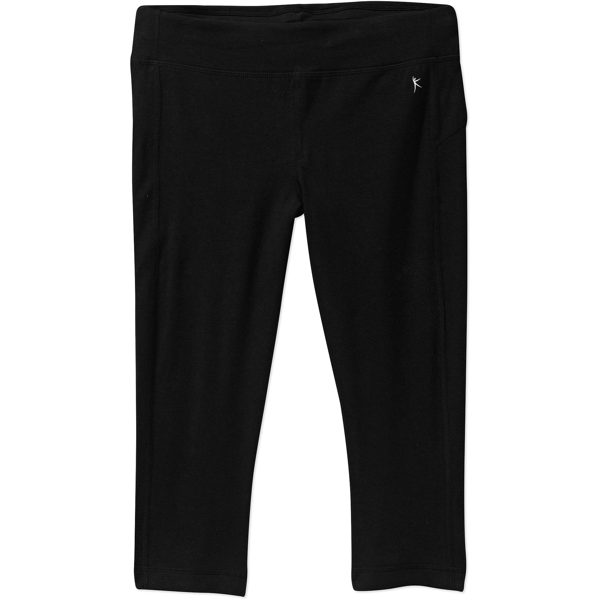 Danskin Now Women's Knit Capri Tights With Wicking