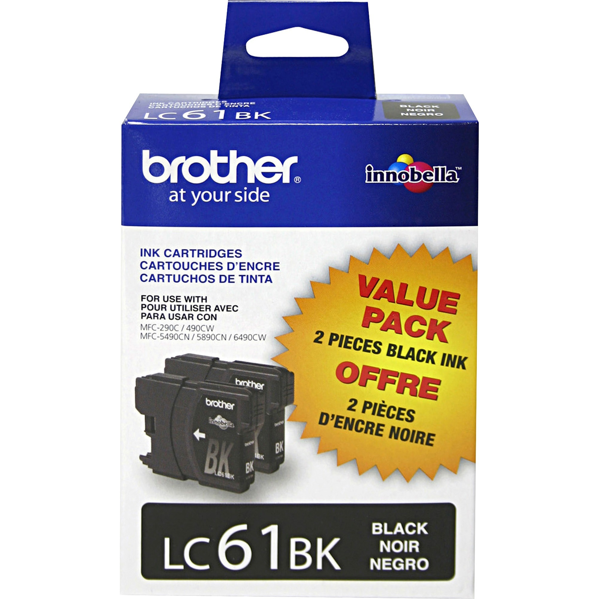 Brother LC612PKS Black Ink Cartridge