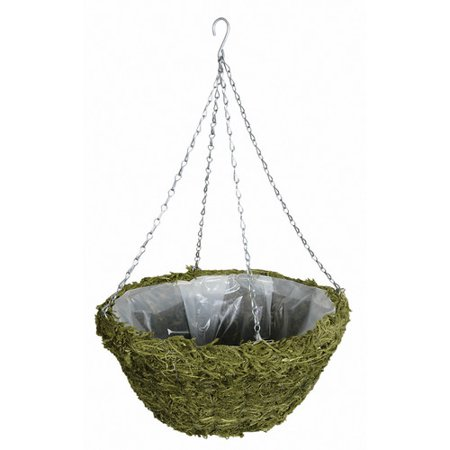 World Source Partners Natural Fibers Hanging Planter