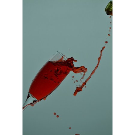- Acrylic Face Mounted Prints Drink Glass Wine Splash Red Wine Time Print 20 x 16. Worry Free Wall Installation - Shadow Mount is Included.