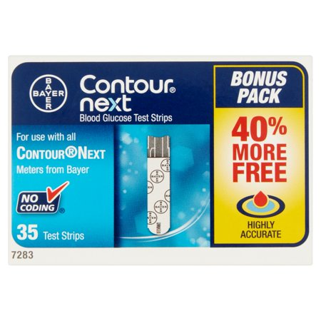 Contour Next Blood Glucose Test Strips  35 Ct