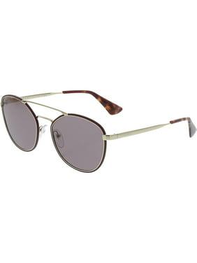 9a72a675c7a Product Image Prada Women s Anti-reflective PR63TS-VIY6X1-55 Red Aviator  Sunglasses