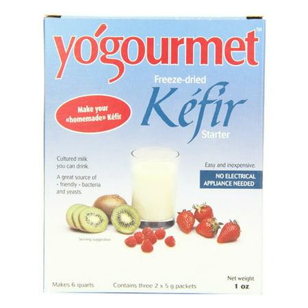 Yogourmet Freeze Dried Kefir Starter Colored Milk - 1 Oz, 6 Pack