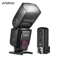 Andoer AD560 2.4G Wireless Universal On-camera Slave Speedlite Flash Light GN50 with Flash Trigger for Canon Nikon for Sony A7/ A7 II/ A7S/ A7R/ A7S II DSLR Cameras