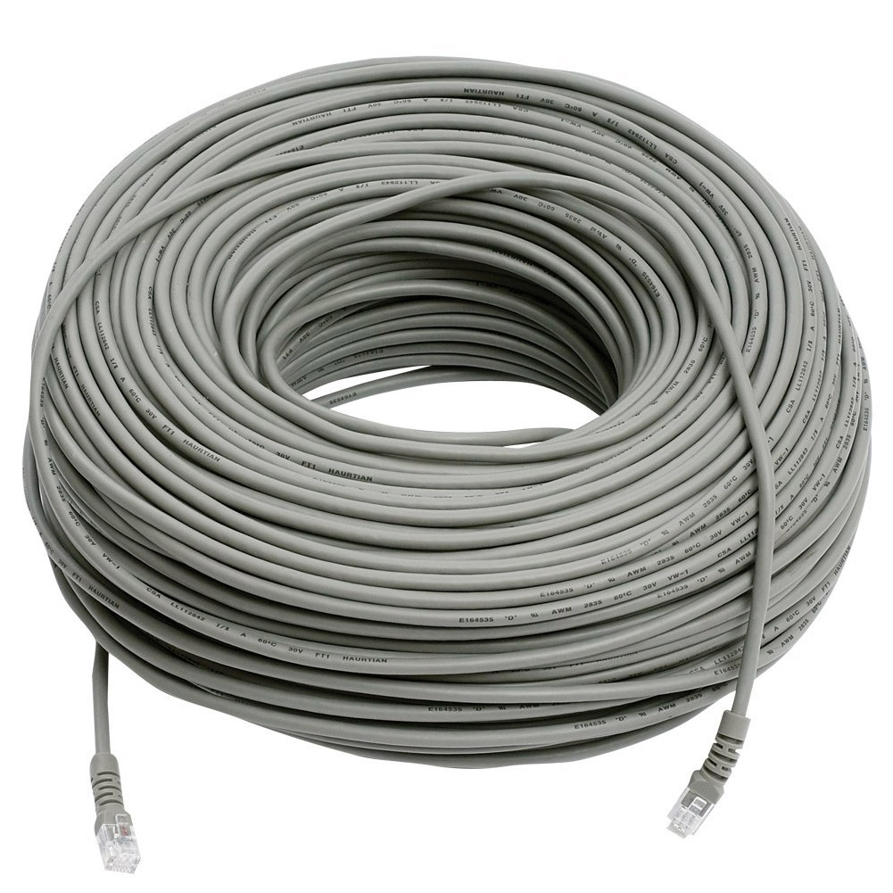 Revo Security Products R300RJ12C RJ-12 Camera Cable, 300'