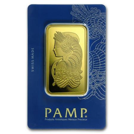 100 gram Gold Bar - PAMP Suisse Fortuna Veriscan (In - Pimp Purple