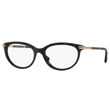 70264e2911ae Burberry BE2177-3001 Cat Eye Women s Black Frame Genuine Eyeglasses NWT -  Walmart.com
