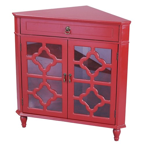 Highland Dunes Littlehampt 2 Door Accent Cabinet