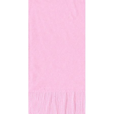 50 Plain Solid Colors Dinner Hand Towel Napkins Paper - Pink