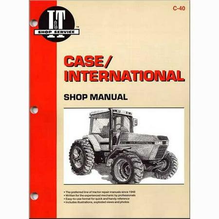 I&t Shop Manual Case - I&T Shop Manual , New, Case IH