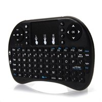 AOOLIVE i8 2.4Ghz Mini Wireless Keyboard Backlit Controls Touchpad for Android TV BOX PC