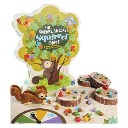 Educational Insights The Sneaky  Snacky Squirrel Game   Theme Subject  Animal   Skill Learning  Eye Hand Coordination  Sorting  Matching  Strategic Thinking  Fine Motor  Handwriting  3405