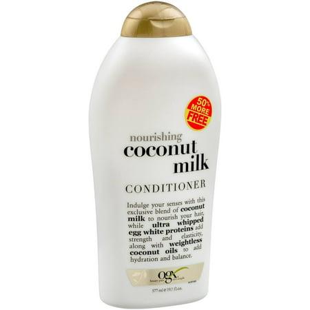OGX Nourishing + Coconut Milk Conditioner, 19.5 fl