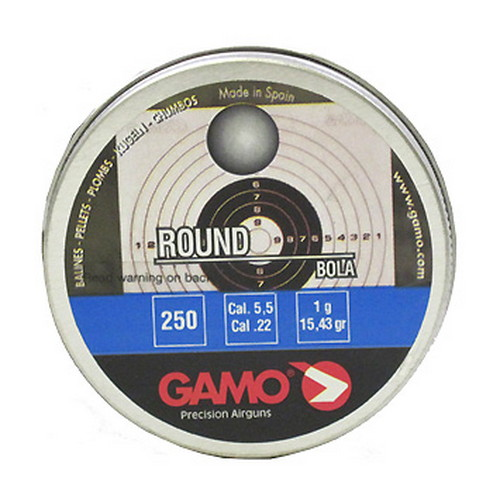 Gamo Roundball Pellets (BB'S) .22 Caliber