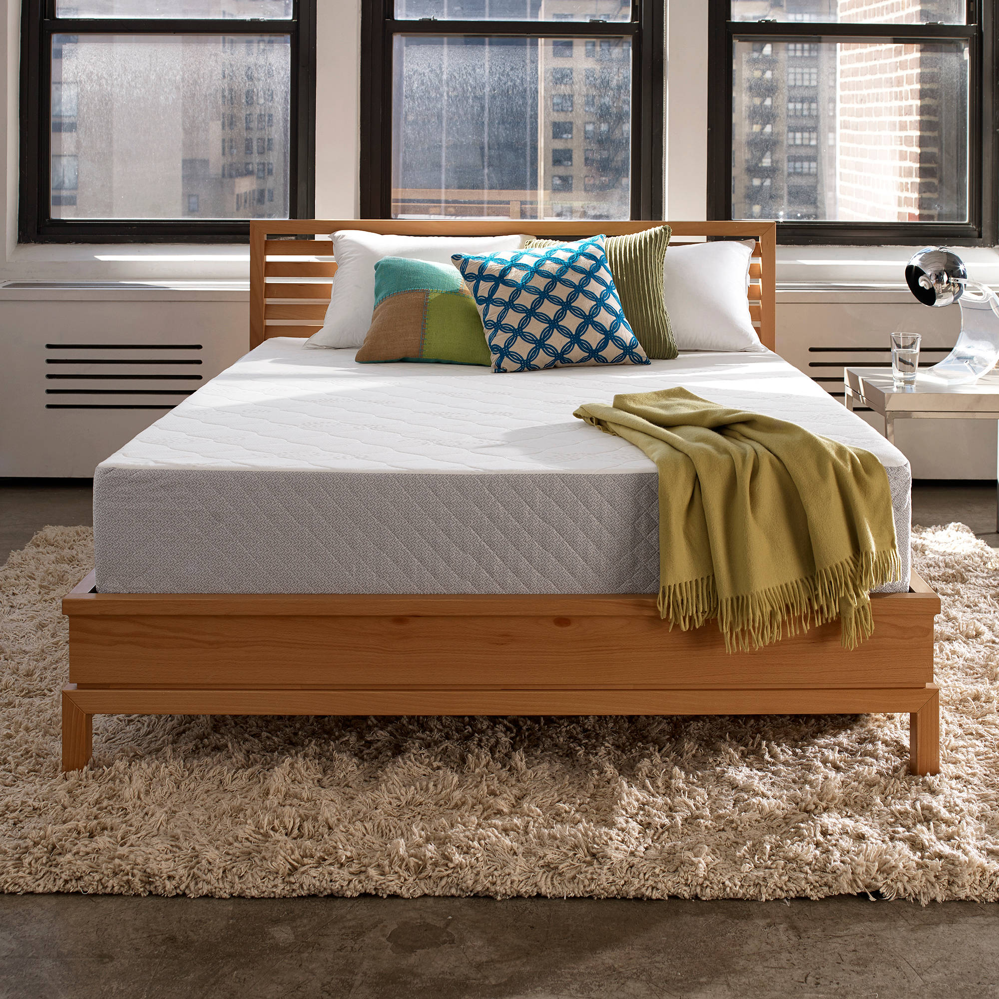 Sleep Innovations Marley Gel Memory Foam Mattress, 10""