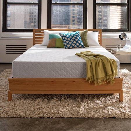 Sleep Innovations Marley Gel Memory Foam Mattress, 10