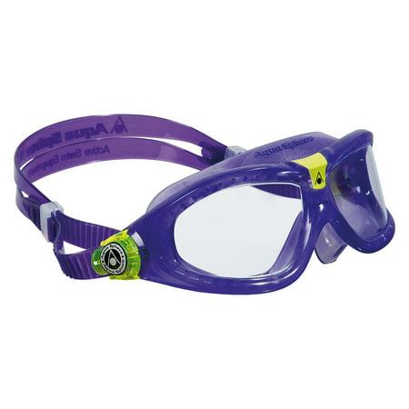 Aqua Sphere Seal Kids Swimming Goggles in blue with Clear Lenses (Aqua Sphere Seal Kid Swim Goggle)