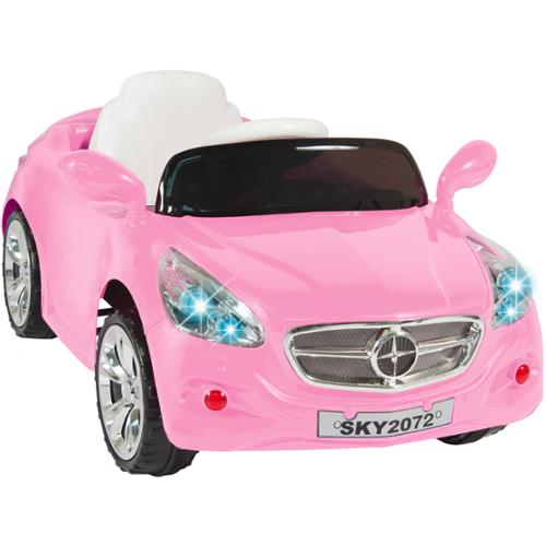 12V Ride on Car Kids RC Car Remote Control Electric Battery Power  W/ Radio & MP3 Pink