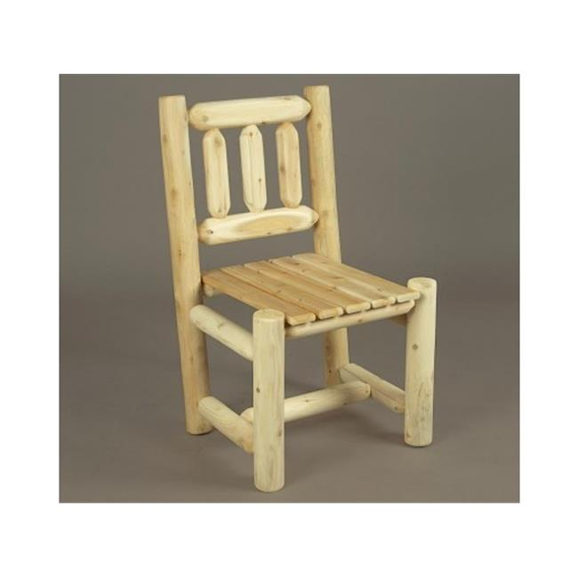 Rustic Natural Cedar Furniture 0201135 Five Piece Square Dining