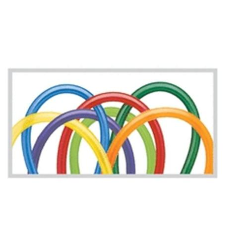 Assorted Twisters (260Q Carnival)Pack of 100 Multi-Colored