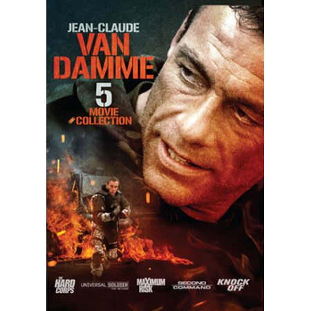 Jean-Claude Van Damme: 5 Movie Collection (DVD) (Jean Claude Van Damme Expendables 2 Sunglasses)