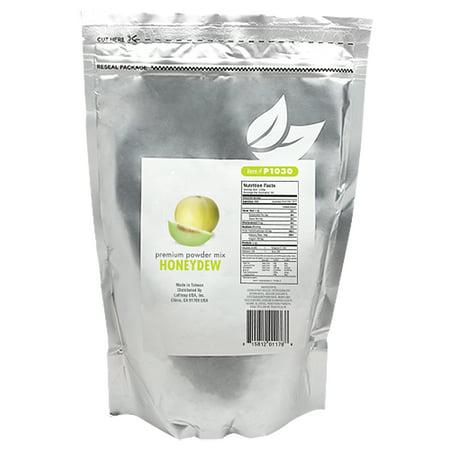 Tea Zone HONEYDEW Premium Powder Mix for Boba Bubble Tea, Slush, Smoothies 2.2 lbs - Bubble Team
