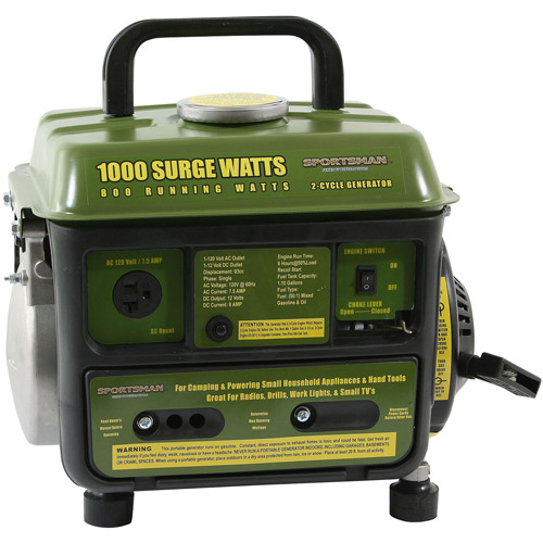 Sportsmans Series 1000-Watt 2-Cycle Generator