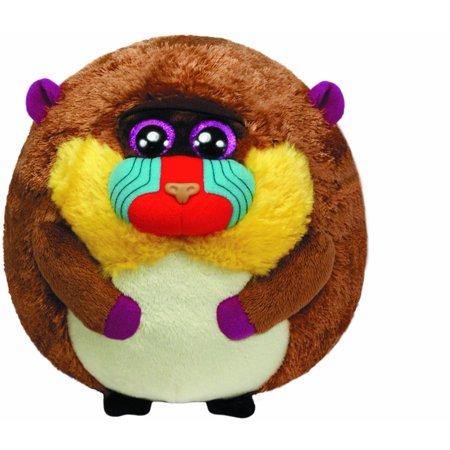 Ty Beanie Ballz Charlie Baboon Plush