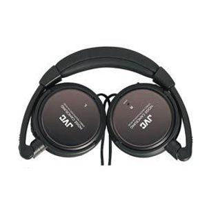 JVC HA-NC80 Noise Canceling Headphone - Wired - 10 Hz 22 kHz - Gold