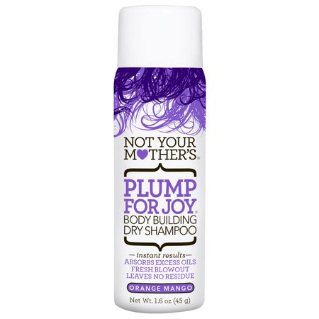 (2 Pack) Not Your Mother's Plump for Joy Body Building Dry Shampoo, Travel Size, 1.6
