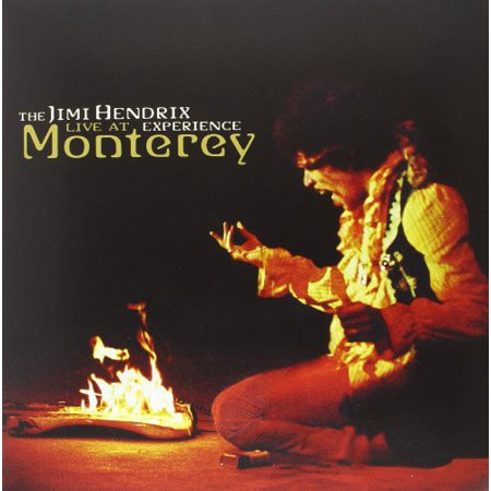 Live At Monterey (Vinyl) (The Jimi Hendrix Experience Live At Monterey)