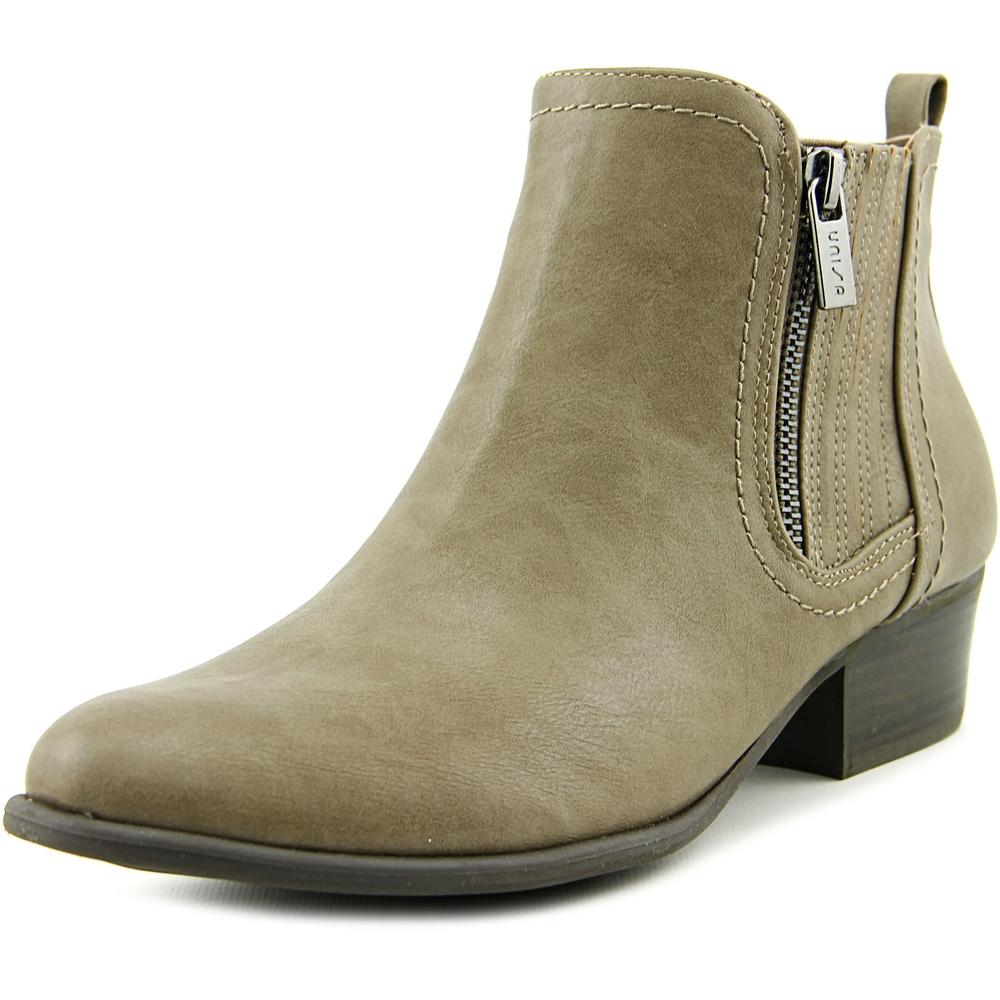Unisa Parson Women  Round Toe Synthetic Gray Ankle Boot