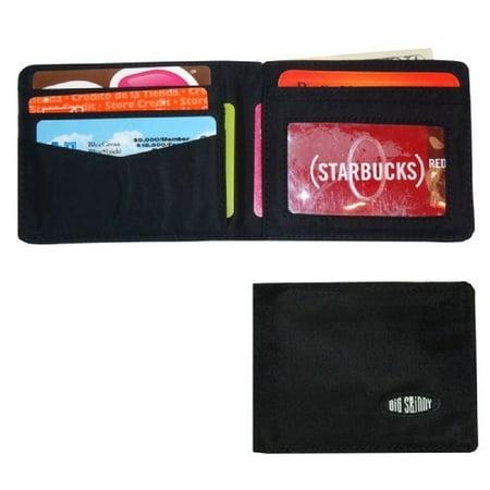Big Skinny Multi Pocket Bi-fold - Black ()