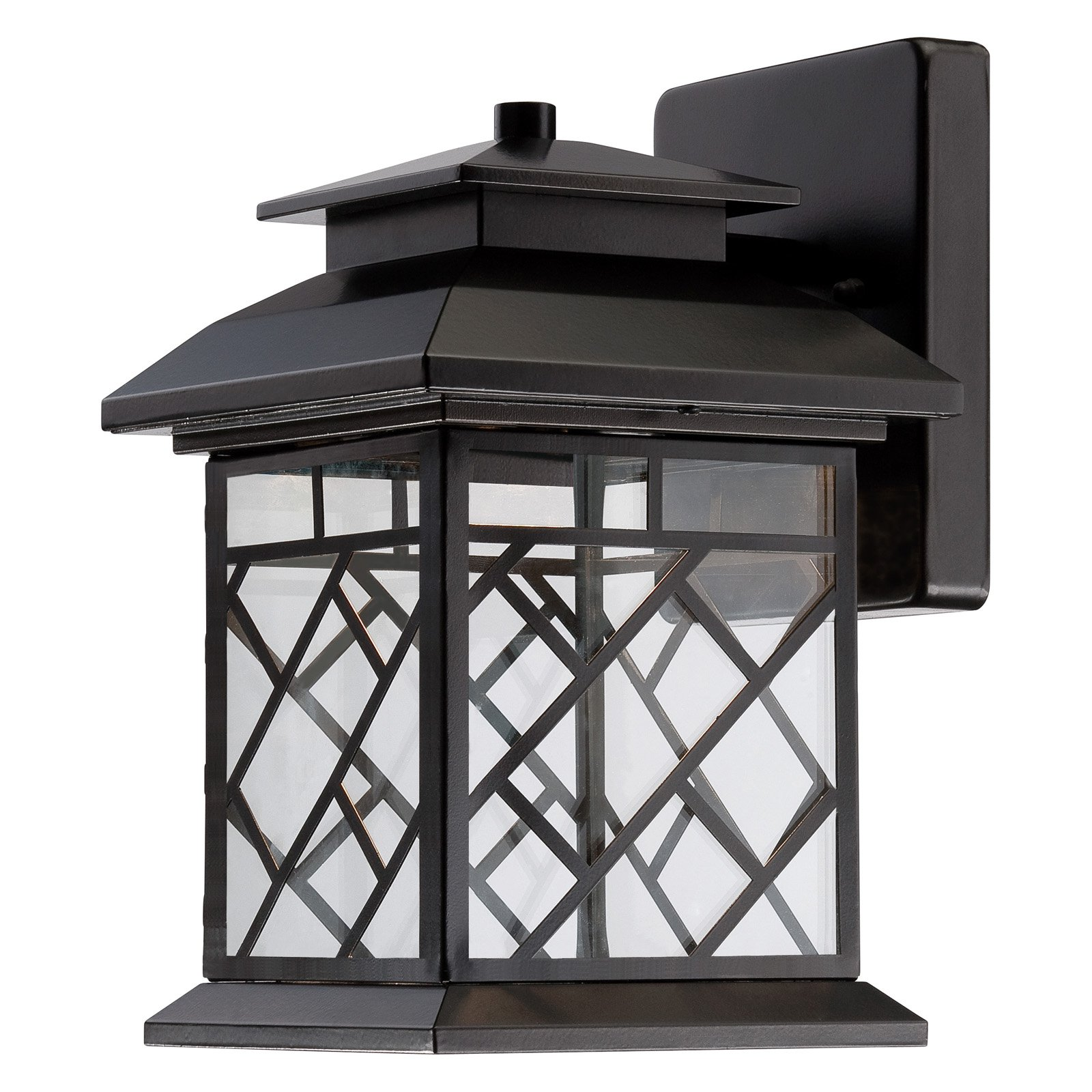 Designers Fountain Outdoor Woodmere LED22321 Wall Lantern - Oil Rubbed Bronze