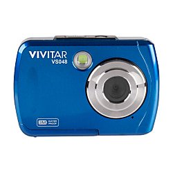 Vivitar® Instant VS048 16.0-Megapixel Digital Camera, Blue Digital Blue Vivitar Vivicam