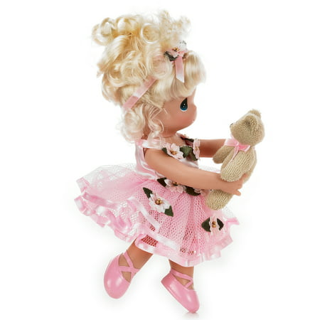 Precious Moments Dolls by The Doll Maker, Linda Rick, Dance with Me, Ballerina, Blonde, 9 inch doll