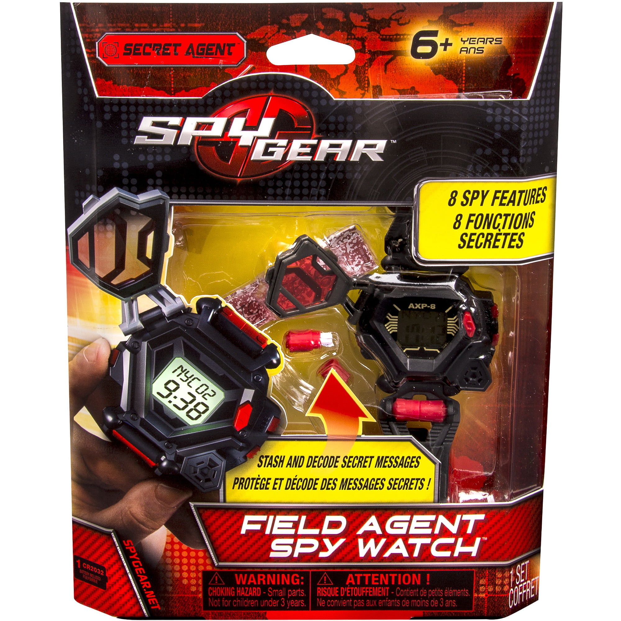 Spy Gear, Field Agent Spy Watch by SPIN MASTER