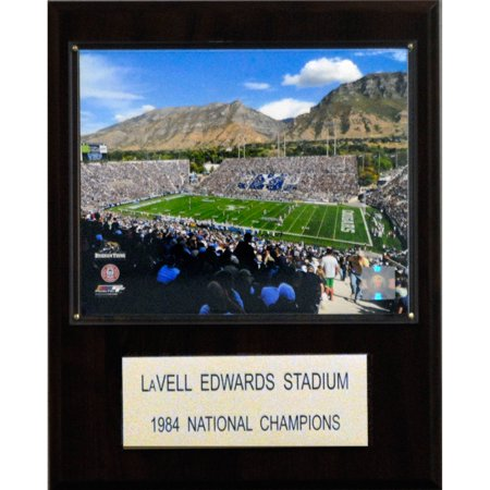 C&I Collectables NCAA Football 12x15 LaVell Edwards Stadium Stadium (Lavell Edwards Stadium)