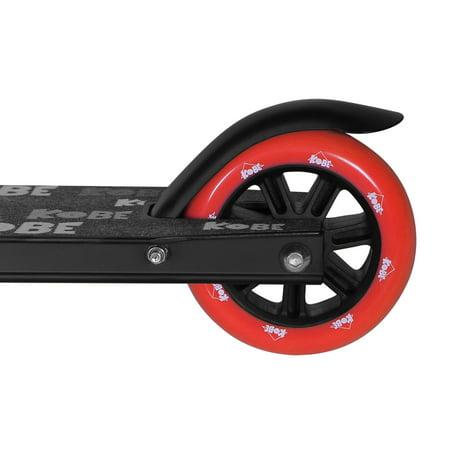 KOBE EDGE Kick Pro Scooter 2 Wheel - Reinforced Steel - Curved T-bar - Teens, Kids 5-yo and above - Red - image 3 de 11