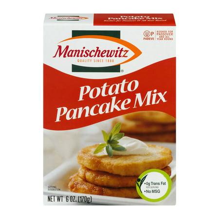 (3 Pack) Manischewitz Potato Pancake Mix, 6 oz