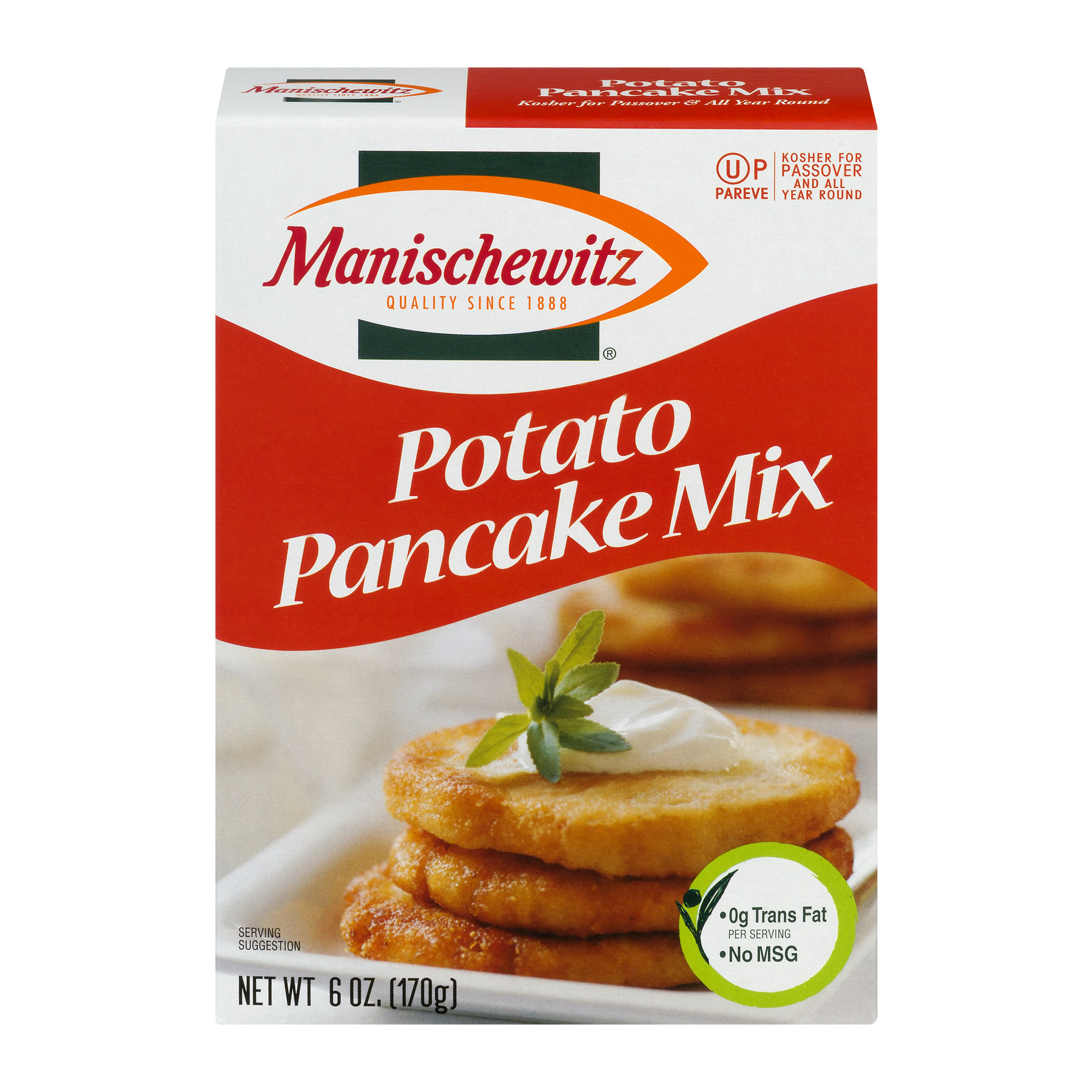 Manischewitz Potato Pancake Mix, 6 oz