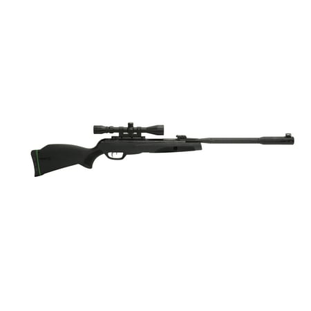 Gamo 611006325554 Whisper Fusion Mach 1 Black Break Open .22 Pellet All Weather Stock w/ 3-9x40mm