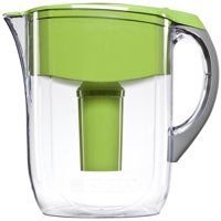 Brita Large 10 Cup Grand Water Pitcher with Filter BPA Free Green by Water Pitchers