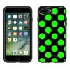 Skin Decal for Otterbox Symmetry Apple iPhone 7 Plus Case - Green Polka Dots Otterbox Symmetry Apple iPhone 7 Plus Skin Decal Green Polka Dots